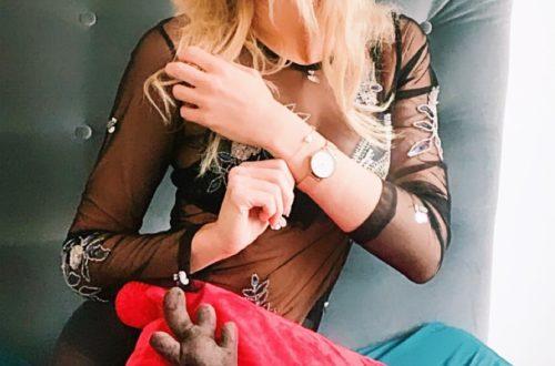 zegarek z rozowego zlota
